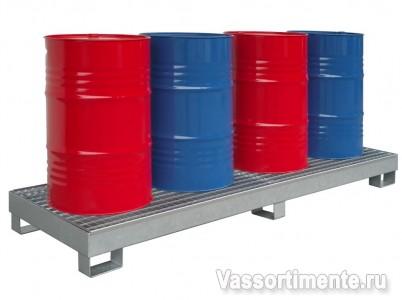 Поддон для бочек с жидкостью КРЛ ПБ 4