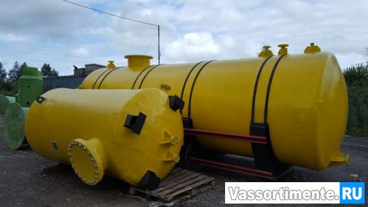 Резервуар нержавеющий для кислоты
