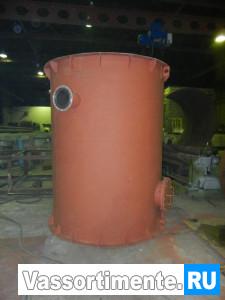 Резервуар вертикальный стальной РВС 10