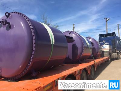 Резервуар вертикальный стальной РВС 25