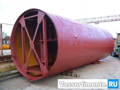 Резервуар вертикальный стальной РВС 50
