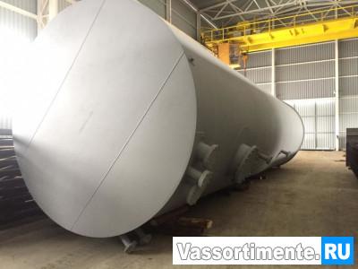 Резервуар вертикальный стальной РВС 75